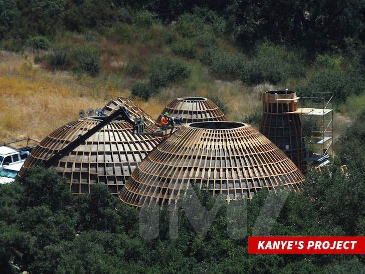 Kanye West's Low Income Housing © TMZ