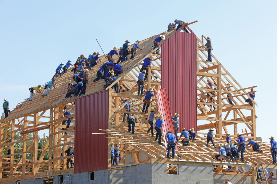 Construction jobs predicted to increase in 2020.
