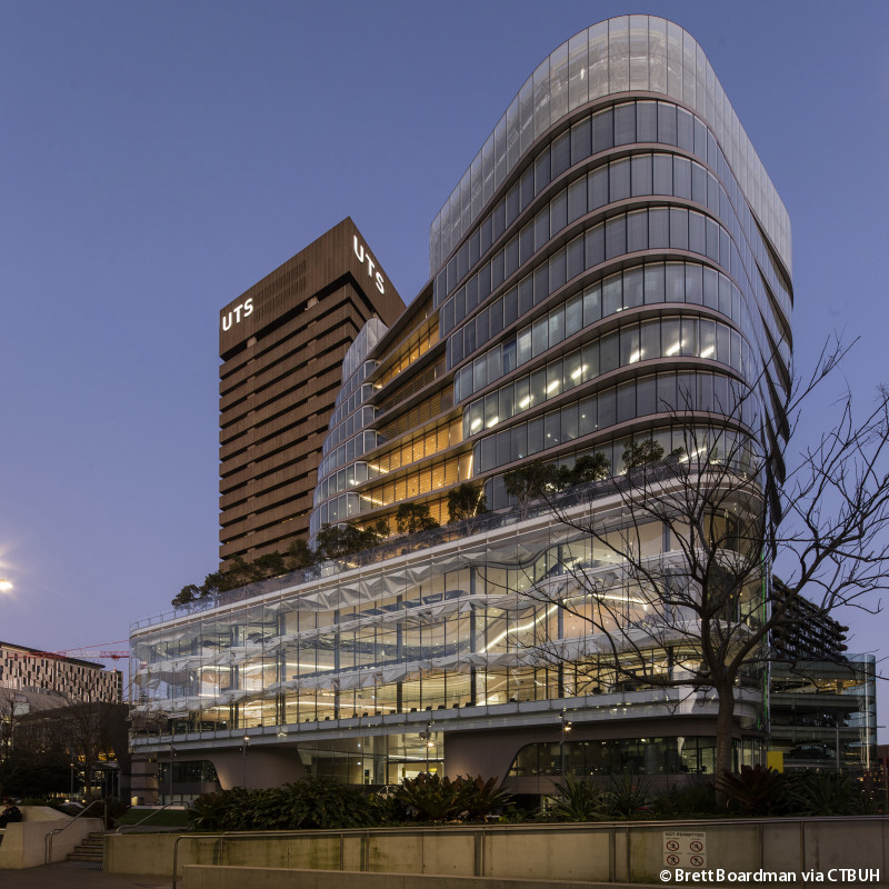 Tall Buildings Award of Excellence winner – UTS Central