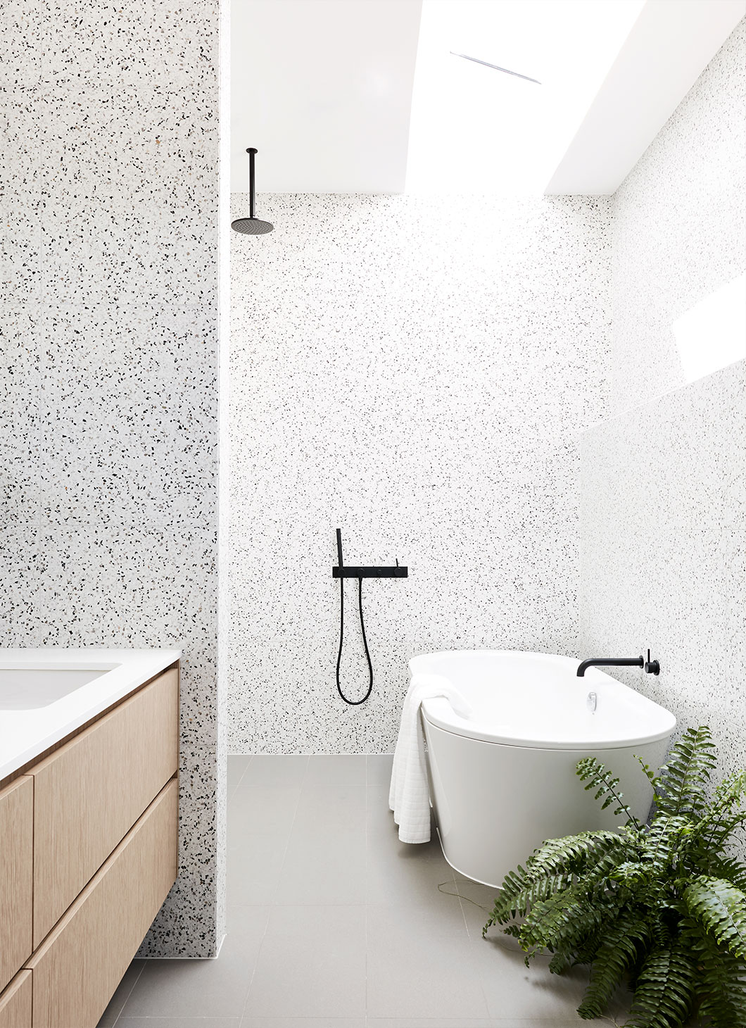 Terrazzo in use. Image from Zunica Interior Architecture & Design | Alex Reinders